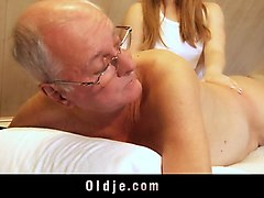 Blonde, Ass, Old Man